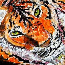 Anne Sands - Tiger portrait