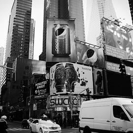 Gaukhar Yerk - Time Square Manhattan