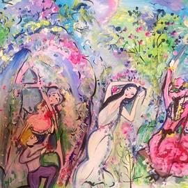 Judith Desrosiers - Time will tell garden