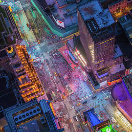 Inge Johnsson - Times Square from Above