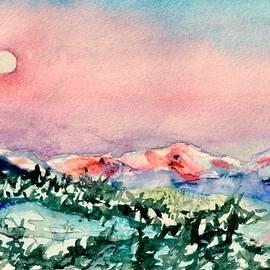 Beverley Harper Tinsley - Tiny Landscape Painting