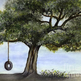 Walt Foegelle - Tire Swing In Live Oak