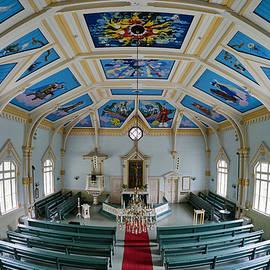Jouko Lehto - Toivakka church. Paintings by Pellervo Lukumies