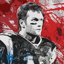 John Farr - Tom Brady Red White and Blue