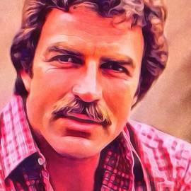 Scott Wallace  - Tom Selleck Portrait