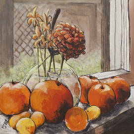 Michael Beckett - Tomatoes In A Sunny Window