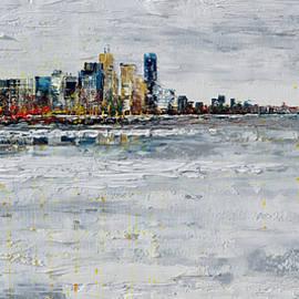 Tatjana Ruzin - Toronto and Frozen Lake