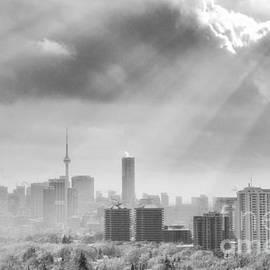 Charline Xia - Toronto with Snow and Sun Rays