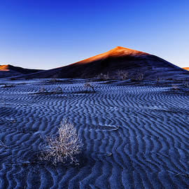 Vishwanath Bhat - Touch of Light at Bruneau Dunes State Park in Idaho