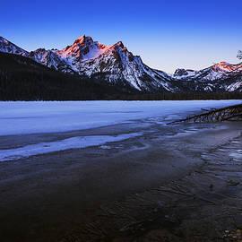 Vishwanath Bhat - Touch of light on McGowan Peak Stanley Idaho