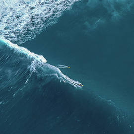Tow Surf - Sunset Beach - Sean Davey