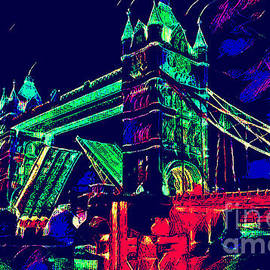 Victor Arriaga - Tower Bridge London nigth