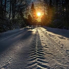Alec Hickman - Tracks in the snow
