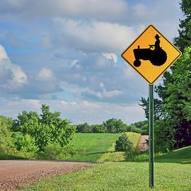 Nikolyn McDonald - Tractor Crossing - Rural Road - Nebraska