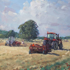 Tractors in the Farm Georgetown - Ylli Haruni