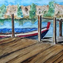 Gary Kirkpatrick - Traditional Fishing Boat in the Albufera