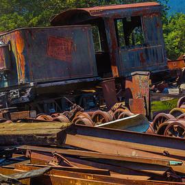 Train Bone Yard - Garry Gay