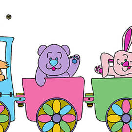 Kids Lolll - Train ride with friends