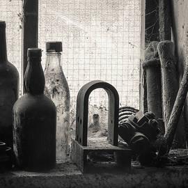 Dave Bowman - Train Yard Window