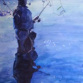 Greta Corens - Tranquil Fishing