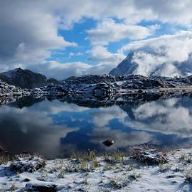 Idaho Scenic Images Linda Lantzy - Tranquil Tarn
