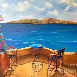 Viktoriya Sirris - Tranquility Of Santorini
