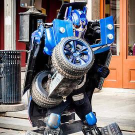 Kathleen K Parker - Transformer Man in French Quarter