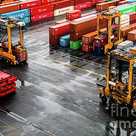 M G Whittingham - Transporting Shipping Containers