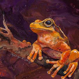 Sherry Shipley - Tree Frog