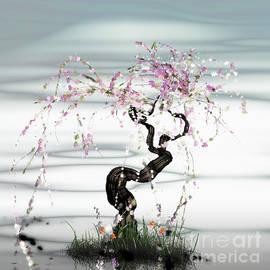 GuoJun Pan - Tree of a young girl 1