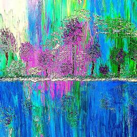 Saundra Myles - Trees and Water
