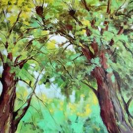 Cathy MONNIER - Trees Abstract