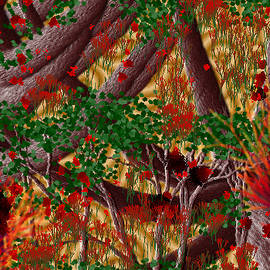Catherine Lott - Trees Completed