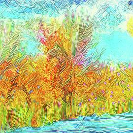 Joel Bruce Wallach - Trees Flow With Sky - Boulder County Colorado