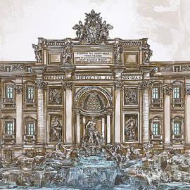 Andrzej Szczerski -  Trevi Fountain,Rome