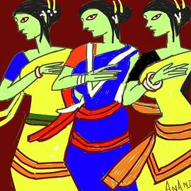 Anand Swaroop Manchiraju - Tribal Beauties
