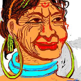 Anand Swaroop Manchiraju - Tribal Portrait