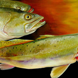 Phyllis Beiser - Triple Trout
