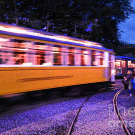 Linda Troski - Trolley Car on the Move