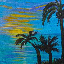 Kathy  Symonds - Tropical Breeze- impressionism