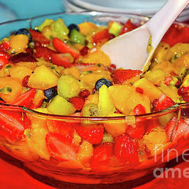 Kaye Menner - Tropical Fruit Salad by Kaye Menner