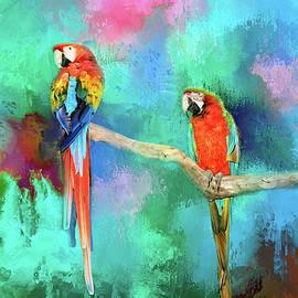 Lynn Bauer - Tropical Macaws