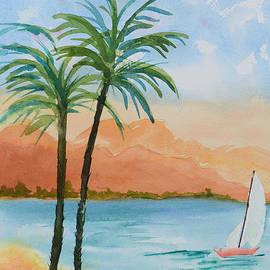 Olga Hamilton - Tropical Scene