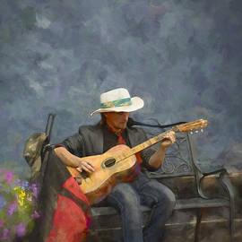 F Leblanc - Troubadour - Painting