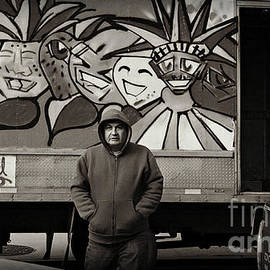 Miriam Danar - Truck Delivery Man - East Side New York