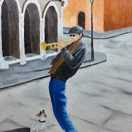 Bev Conover - Trumpet Man and Friend