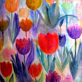 Sandy McIntire - Tulip Garden
