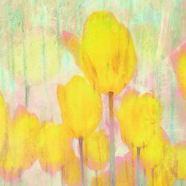 Hal Halli - Tulip Watercolor Dreams