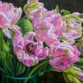Fiona Craig - Tulipomania 13 Pale Pink Parrots