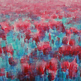Jane See - Tulips Dance Abstract